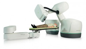 CyberKnife treatment for brain cancer