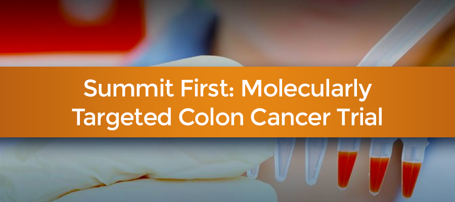molecularly target resistant form of colon cancer