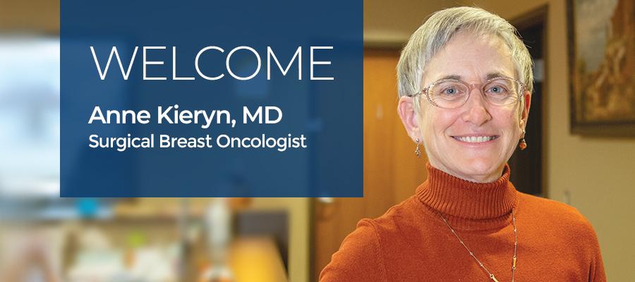 Welcome Dr. Anne Kieryn